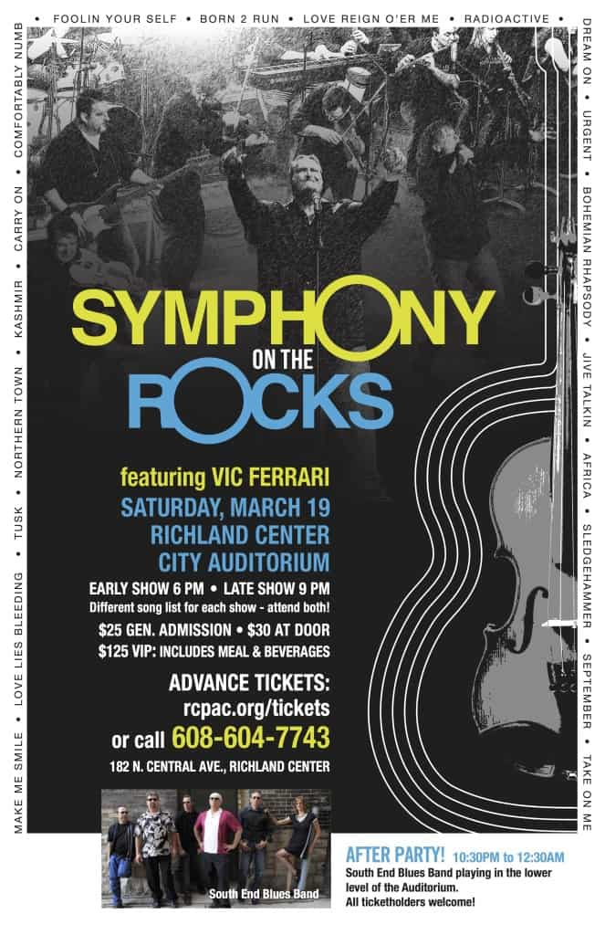 Richland Center Symphony Poster 2016ƒ